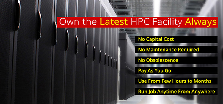 USD 1 PER HOUR HPC-Now in India