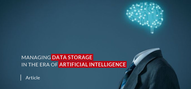 Managing Data Storage in the Era of Artificial Intelligence
