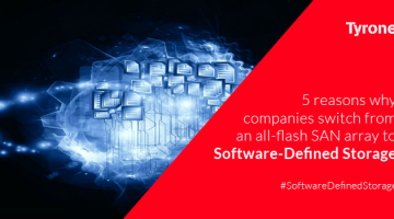 5 advantages of SDS over Traditional All-Flash SAN Array