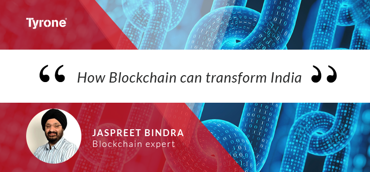 How Blockchain can transform India