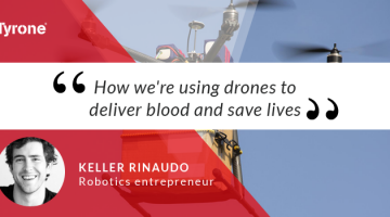 How Can Drones be Used to Deliver Blood and Save Lives