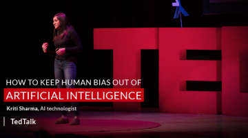 How to keep Human Bias out of Artificial Intelligence