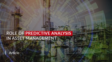 Role of predictive analysis in asset management