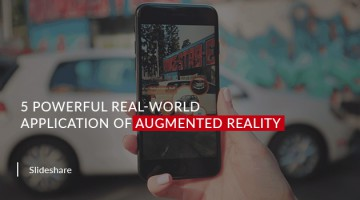 5 Powerful Real-World Application of Augmented Reality