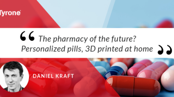 We need to change how we prescribe drugs, says physician Daniel Kraft: too often, medications are dosed incorrectly, cause toxic side effects or just don't work. In a talk and concept demo, Kraft shares his vision for a future of personalized medication, unveiling a prototype 3D printer that could design pills that adapt to our individual needs