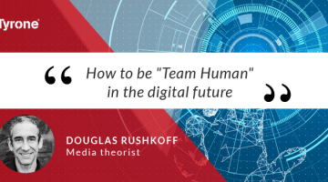 """How to be """"Team Human"""" in the digital future"""