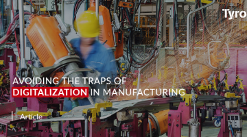 Avoiding the traps of digitalisation in manufacturing
