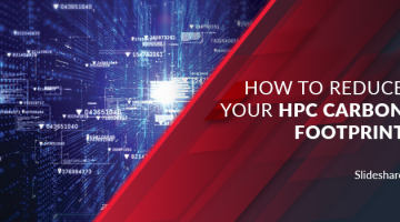 How to Reduce your HPC Carbon Footprint