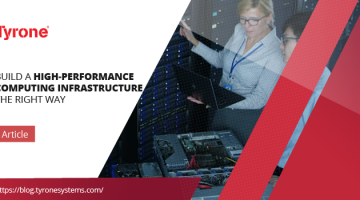Build a High-Performance Computing Infrastructure the right way