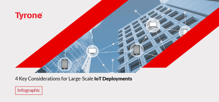 Key considerations for Large-scale IoT Deployments